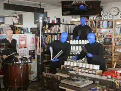 Blue Man Group: Tiny Desk Concert : NPR